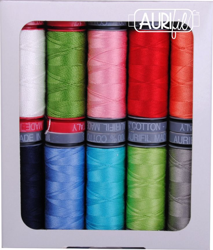 #AurifilDesigner Amanda Murphy is on the Brewer Sewing blog today talking about her new Aurifil thread collections! Both collections coordinate with her current fabric lines, as well as her newest line coming out at spring market! We love that she selected several different thread weights for her collections, making them a fantastic addition to your thread stash! To see how Amanda uses the various thread weights, please visit…
