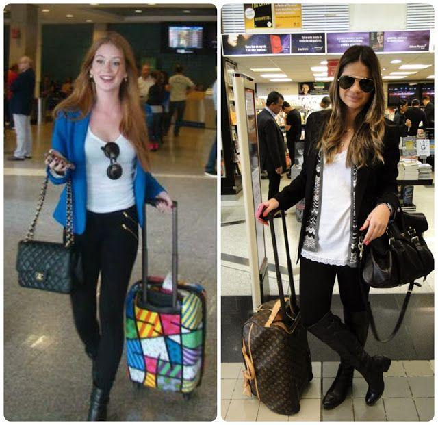 Todas Amam: O que as famosas usam no Aeroporto