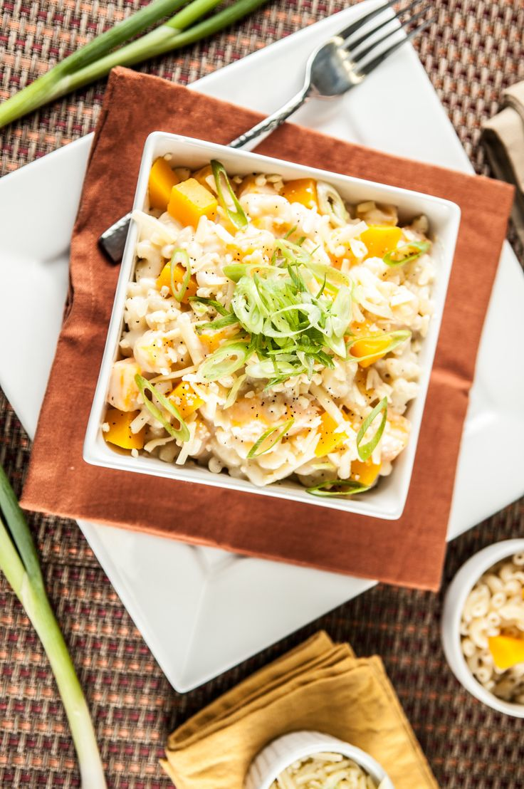 Organic Butternut Squash Mac And Cheese With Sharp Cheddar Cheese And Elbow Pasta Https