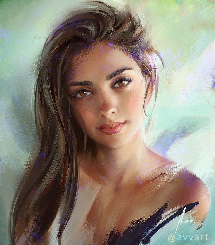Joanna, Aleksei Vinogradov on ArtStation at https://www.artstation.com/artwork/8ZEbE