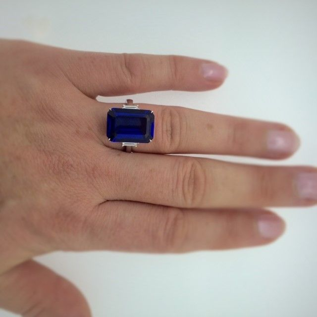 emerald ring e topic cut tanzanite t helpful