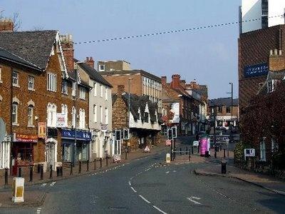 Wellingborough Northamptonshire, England, where my life started . . .