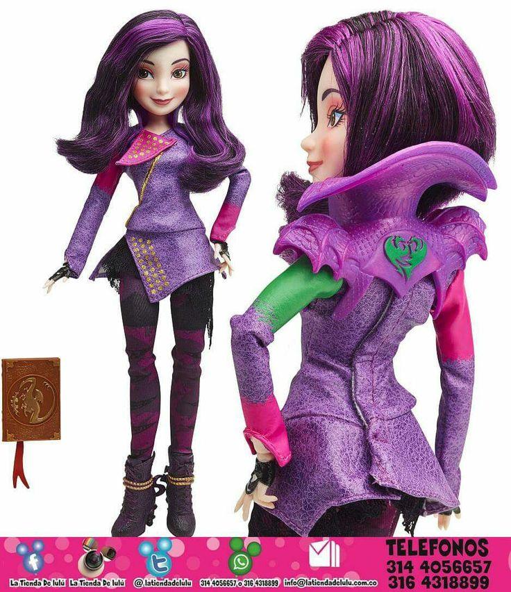 Muñeca Mal Los Descendientes Disney.