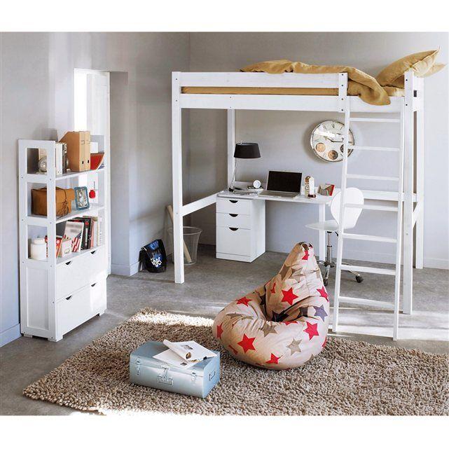 1000 id es sur le th me lit mezzanine 2 places sur pinterest mezzanine 2 places mezzanine et. Black Bedroom Furniture Sets. Home Design Ideas