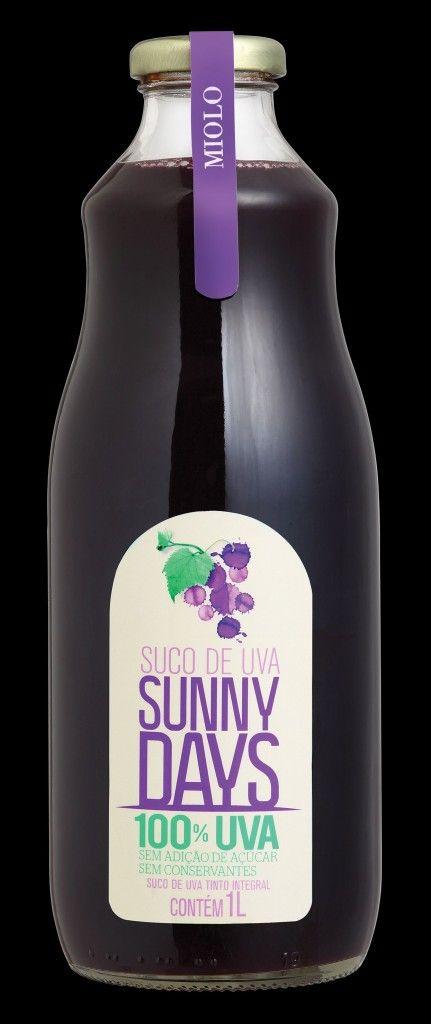 Miolo lança suco de uva em garrafa exclusiva