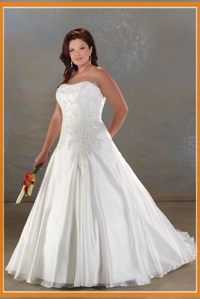 Clearanced Plus Size Wedding Dresses 63
