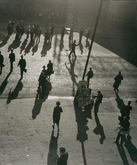 Street at Central-1938 Max Dupain