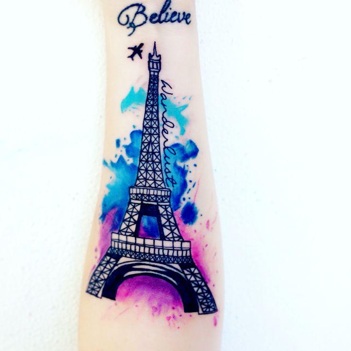 Eiffel Tower Tattoo Eiffel Tower Tattoo Tattoos Effiel Tower