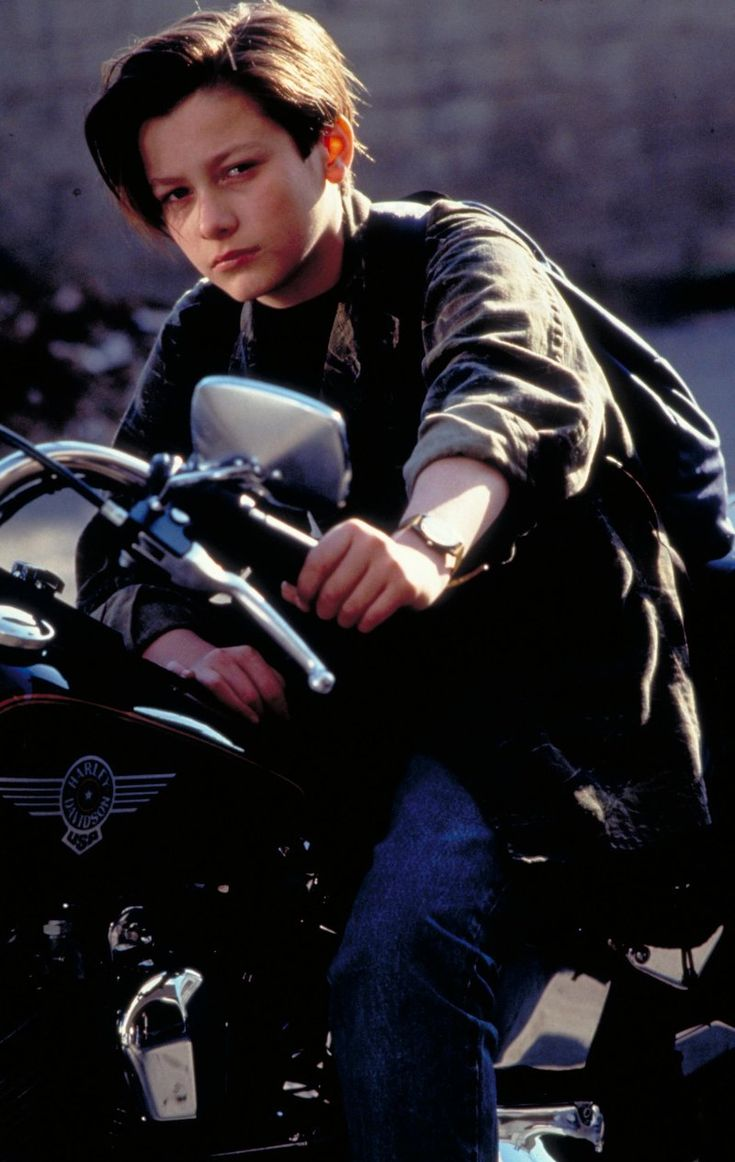 "My ultimate childhood crush:  Edward Furlong in ""Terminator 2: Judgment Day"" (1991)"