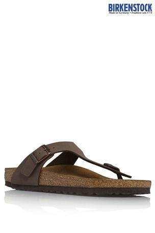 Buy Birkenstock® Gizeh Mocca Toe Thong from the Next UK online shop