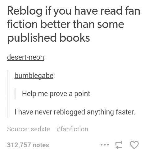 Fanfiction Site List