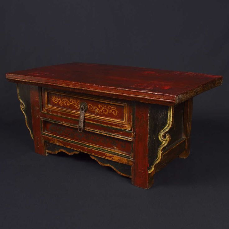 It has a drawer and is tastefully decorated. Simple and elegant. Size: 69 x 40 x 32 (H) cm.