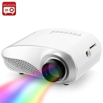 1080p Mini Multimedia LED Projector - 320x240 Resolution,