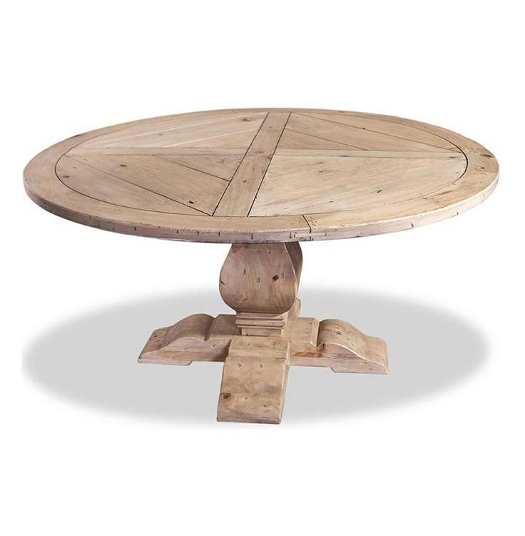ludlum neoclassical rustic light wood 60 d round dining table search