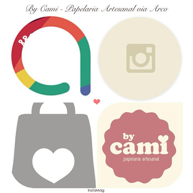 """Para que tem Instagram, agora pode adquirir os itens da Papelaria Artesanal By Cami através do Arco.vc. Basta se cadastrar no site e comentar nas fotos dos itens de papelaria com a palavra: """"comprar""""."""