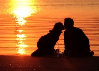 Heiratsantrag am Fluss
