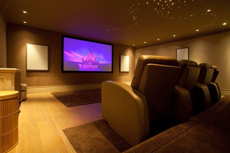 Home cinema solution ... looks inviting!