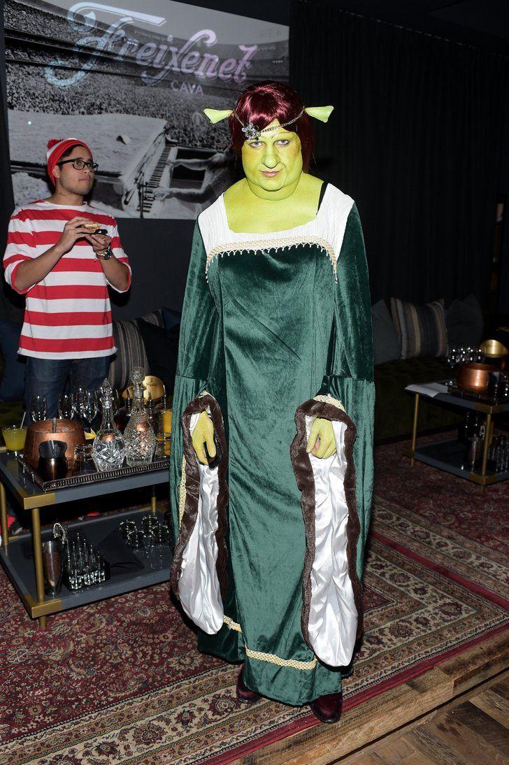 Pin for Later: Toujours Pas de Costume Pour Halloween? Ces Célébrités Vont Vous Donner des Idées Colton Haynes Déguisé En Princesse Fiona