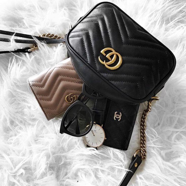 Gucci + Chanel  |  pinterest: @Blancazh