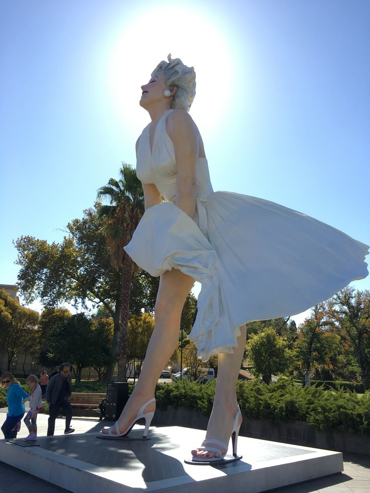 Marilyn Manroe in Bendigo
