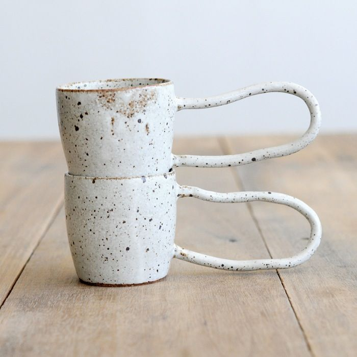 Long Handle Mug / Kazakes Ceramics