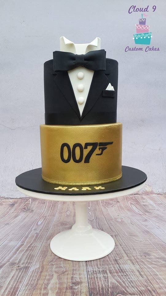 The name is Bond-James Bond- 007 Cake