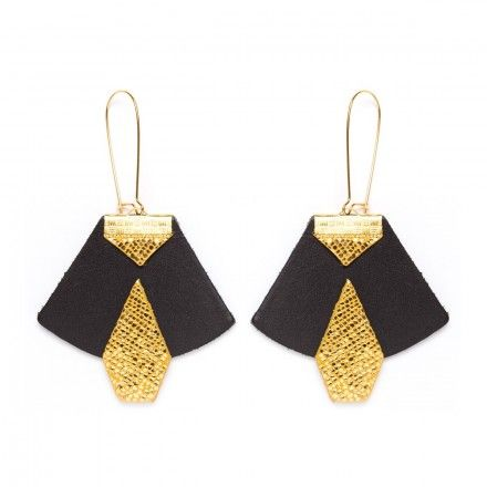 CHARLY JAMES I Boucles D'oreilles HAYDEE cuir