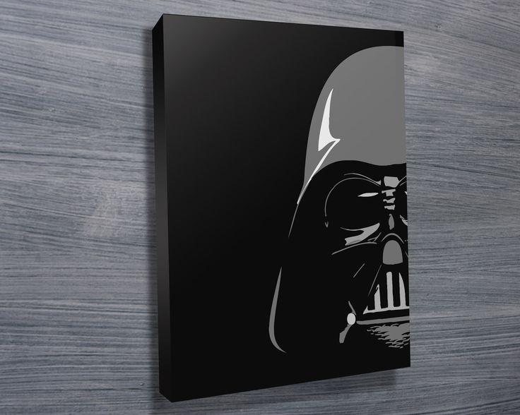 Darth Vader Pop Art by Blue Horizon Prints http://www.bluehorizonprints.com.au/canvas-art/star-wars-art/Empire-Strikes-Back-II/