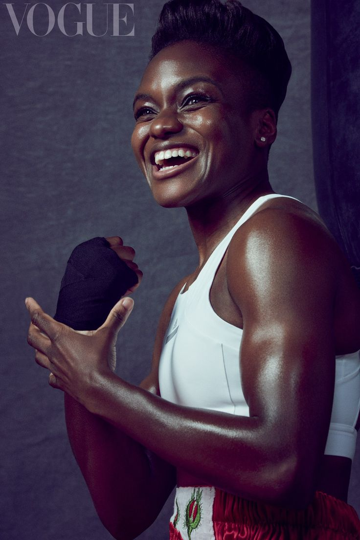 The flyweight champion appears in Vogue to talk boxing, being fearless, and coming out as bisexual