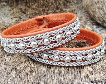 Swedish Viking Sami Lapland Bracelet ROSKVA by TjekijasDesign
