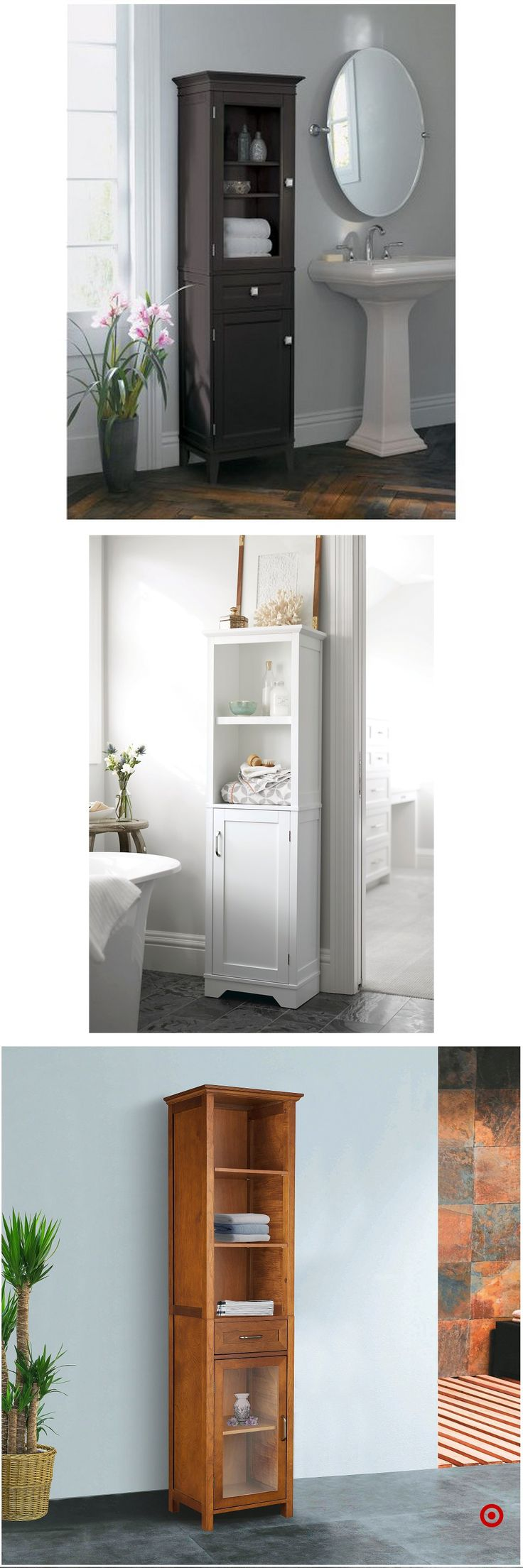 Best 25 Linen Cabinet In Bathroom Ideas On Pinterest Built In Bathroom Storage Small