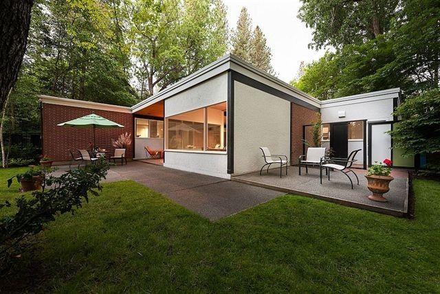 Ferris House, Bruce Walker, Architect and Lawrence Halprin, Landscape Architect