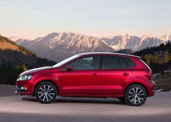 2014 Volkswagen Polo Reds Exterior View 600x426 2014 Volkswagen Polo Full Review With Images