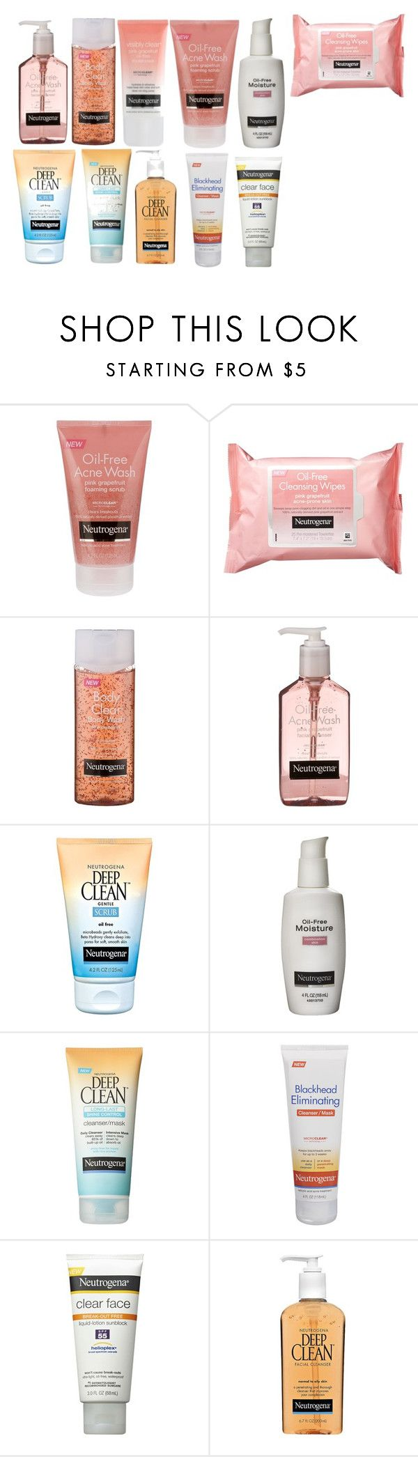 """Neutrogena"" by sweetprep101 ❤ liked on Polyvore featuring beauty and Neutrogena"