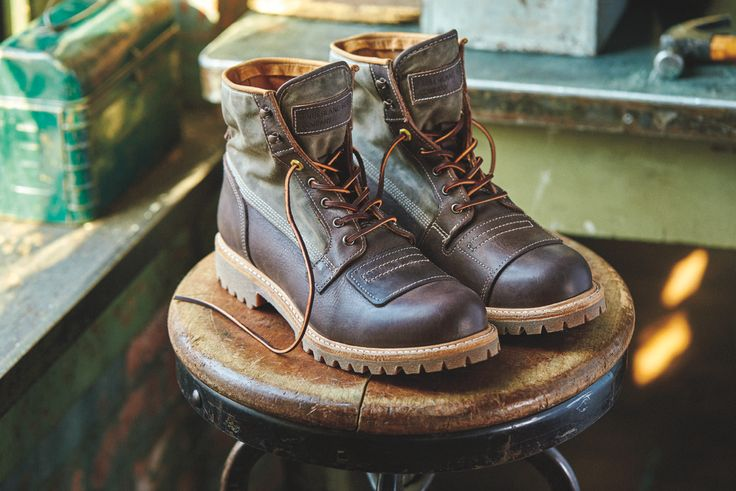 The Lineman Collection is inspired by the early 1900s, when lineman climbing electrical poles needed boots that were rugged, tough and abrasion resistant. This collection honors these workers with premium leather that's made in the USA. Grab a pair today.
