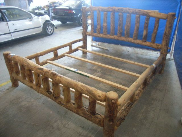 How To Build A Log Bed Frame Free, Lumber Carthage