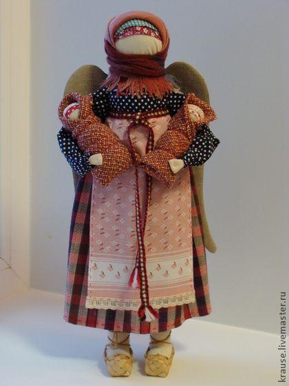 Народные куклы ручной работы. Ярмарка Мастеров - ручная работа Деревенский ангел…