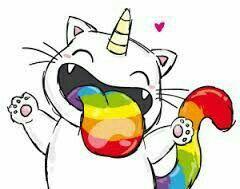 Eine Einhornkatze;) #Unicat