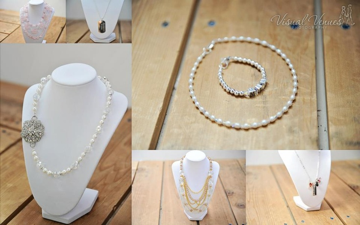 Collection of jewellery created by Mon Petit Bijou for the Halton/Peel Wedding