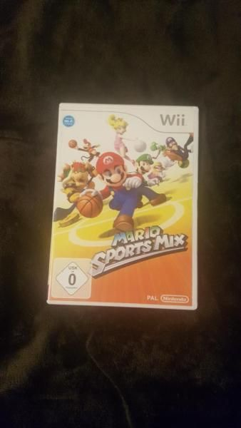 Ein Spiele Mario Sports Mix für Wii-Konsole koste 20€ für Alle Wii Spiele von uns!