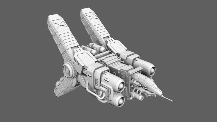 ArtStation - Strike Vector More is More, Gabriel Miller