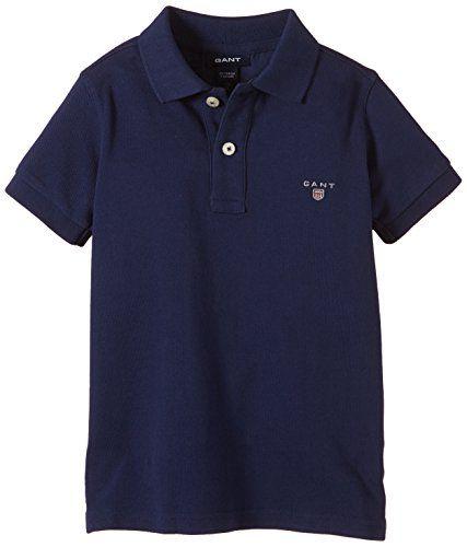 GANT Boy's Polo Shirt -  Blue - Blau (EVENING BLUE 433) -... https://www.amazon.co.uk/dp/B00OLX0T2Q/ref=cm_sw_r_pi_dp_x_oFpszbPH8GSCP