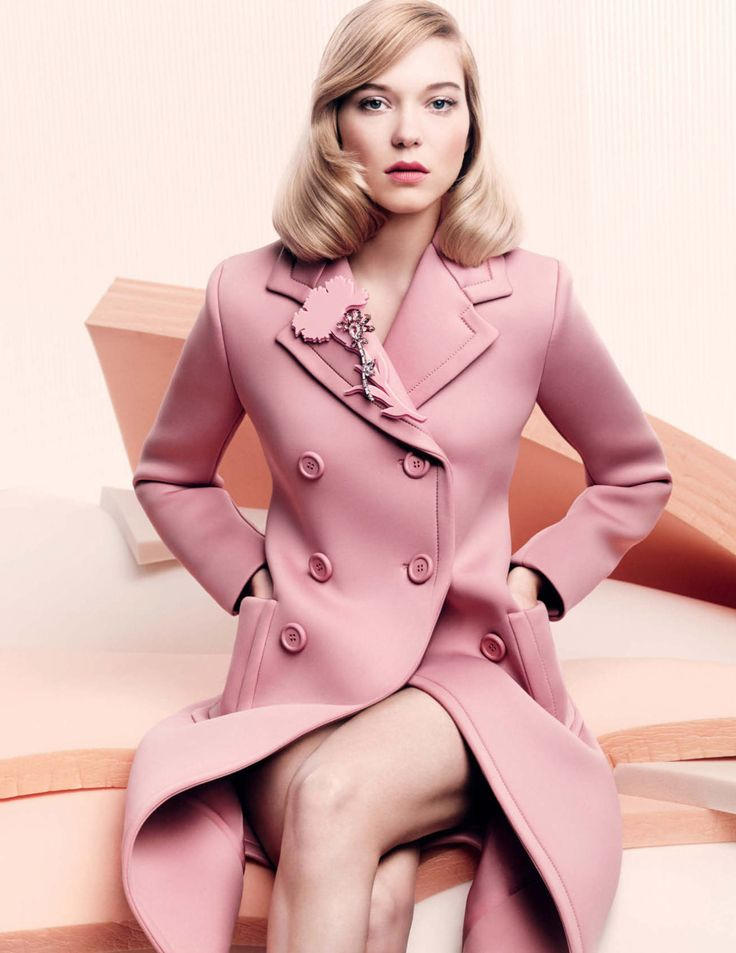 Léa Seydoux by Craig McDean for Vogue UK November 2015 - Prada Fall 2015