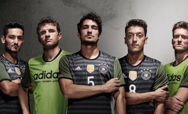 Germany Unveil New Away Kits Ahead of 2016 EURO Championship