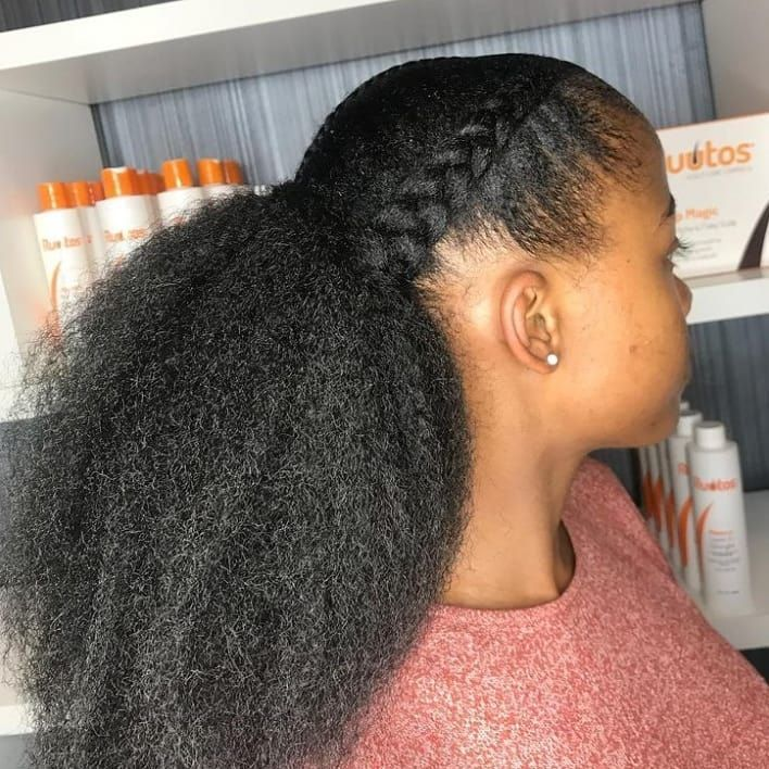 Natural Hair Don T Care On Instagram Yes Type 4 Hair Can Grow I Mean Just Look Tag Please Type 4 Hair Curly Hair Styles Natural Hair Styles