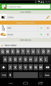 Grocery List - Tomatoes -  This app is a newly-released shopping list app that gets just about everything right, is available for free and runs cross-platform for extra convenience. This free app, with a paid version also available, offers cross-device syncing and loads of item options. s a full fledged mobile shopping list with a load of helpful features. Simply install the app, then register using email, Facebook, or Google account. Click the image for our full review.