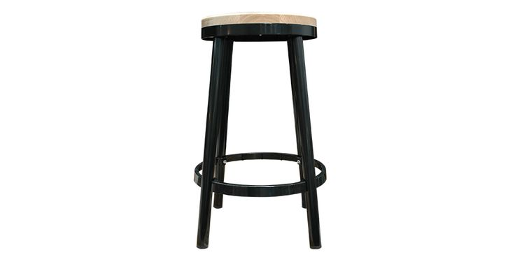 Sky Bar Stools in Black from Hunter Furniture