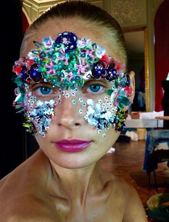 #creative #makeup #adornment Peter Phillips makeup
