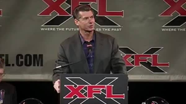 """""""The XFL is going to be the extra fun league.""""   Coming to ESPN 30 for 30 this February ..."""
