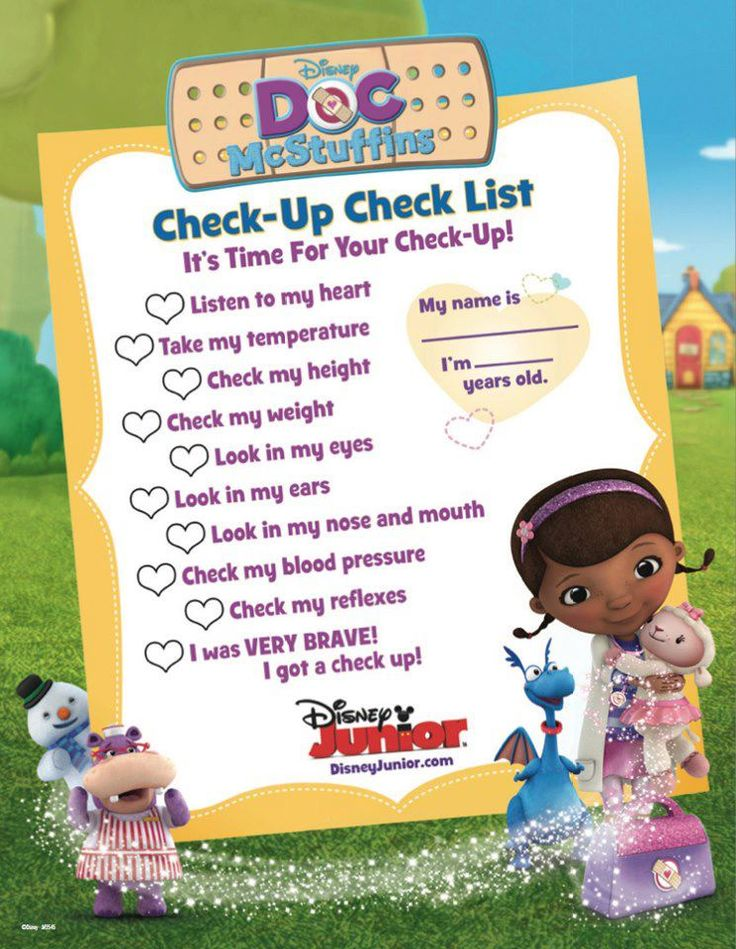 27 best doc mcstuffins disney junior images on pinterest doc bring the doc mcstuffins check up check list to your little ones next appointment solutioingenieria Gallery